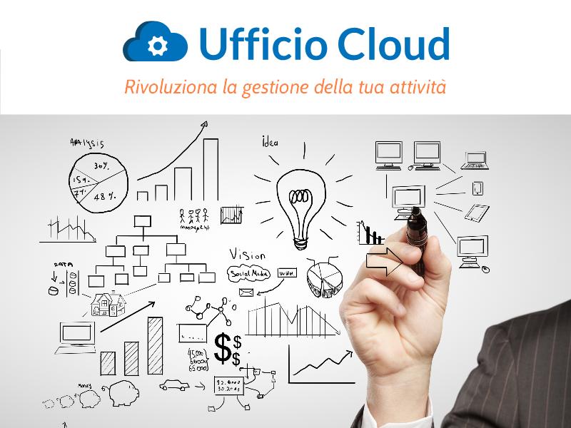 Slide 1. Ufficio Cloud. Rivoluziona la gestione della tua attività