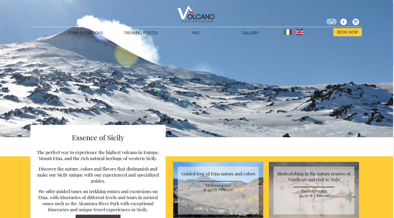 layout volcano excursions